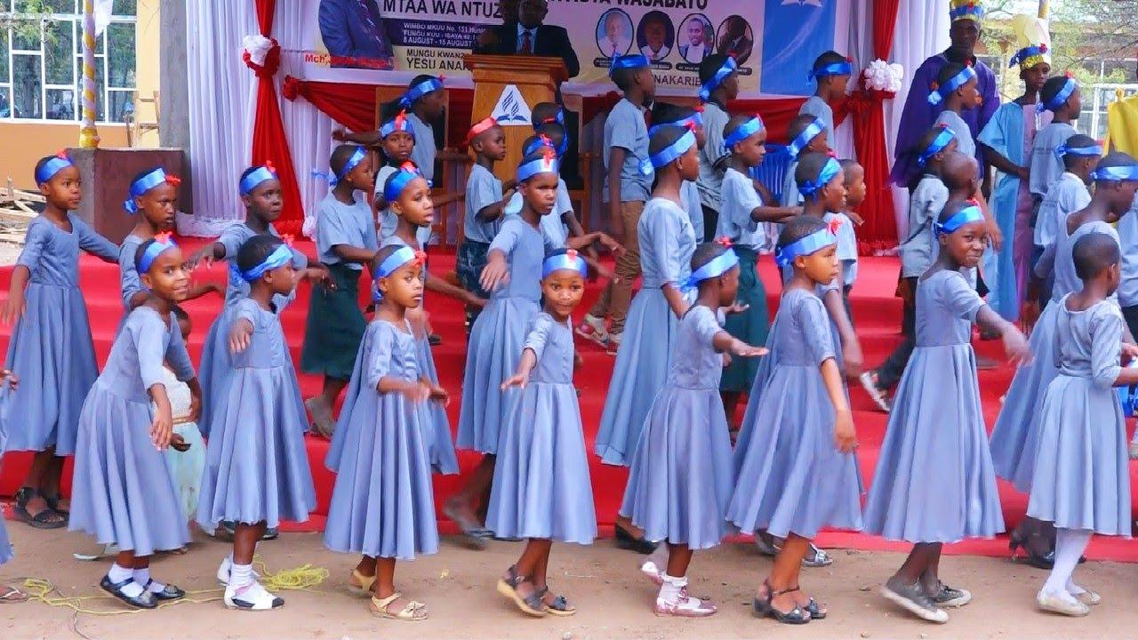 """Download Best Tanzania Children's Songs_Nyimbo za watoto za Kisabato. """"Makambi ya watoto 2020_2021""""."""