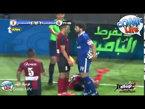 حسام غالى يتعدى على لاعب الداخلية فيديو كوميدى HIGH