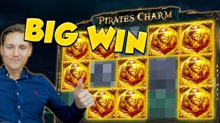 BIG WIN!!! Pirates Charm - Huge Win - Casino Games - free spins (Online Casino)