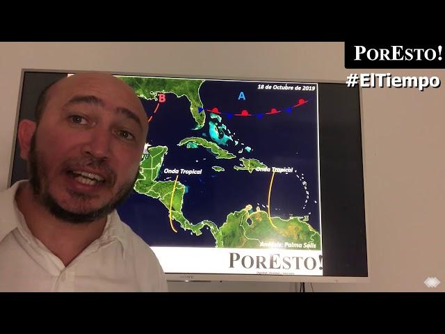 Potencial ciclón tropical deja lluvias en la península