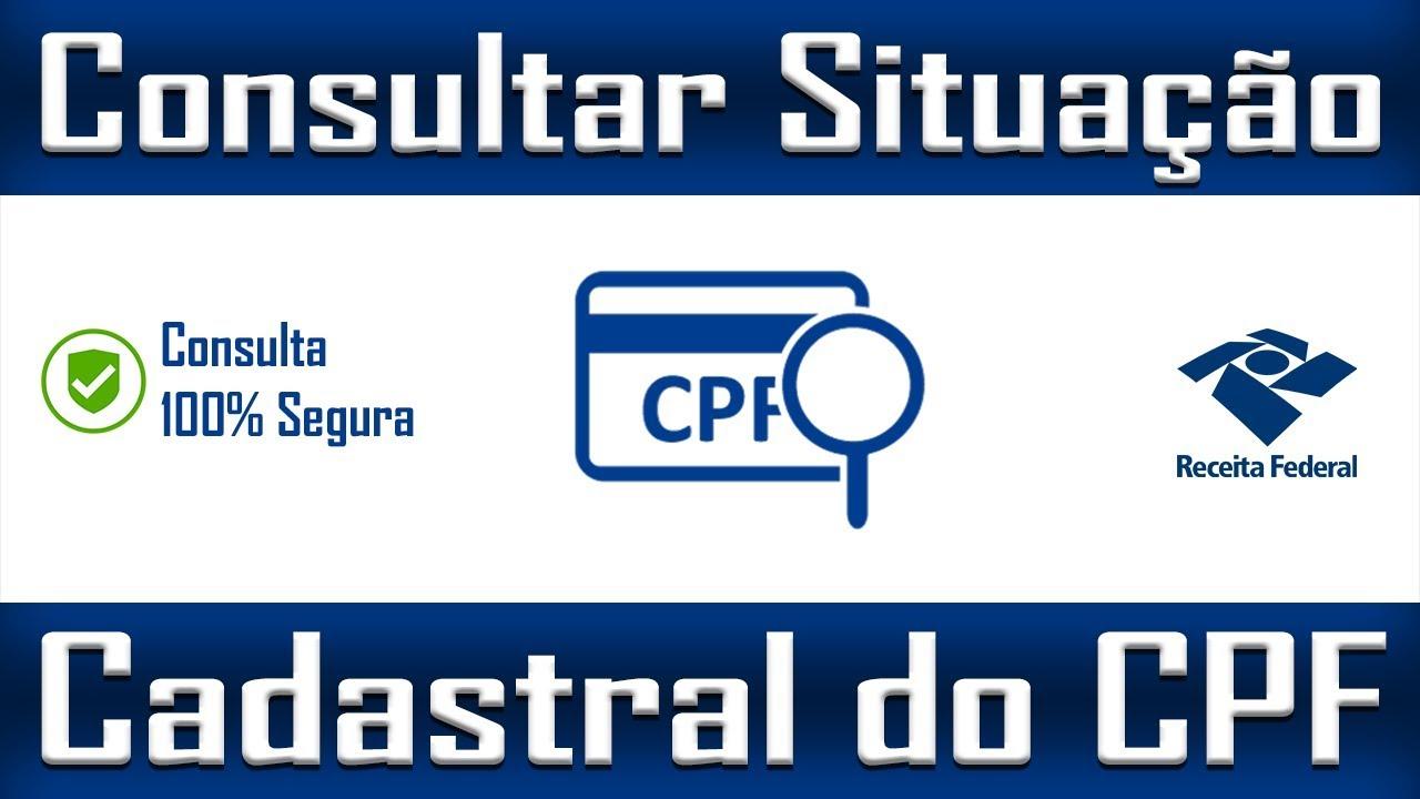 Consultar Situação Cadastral do CPF - YouTube