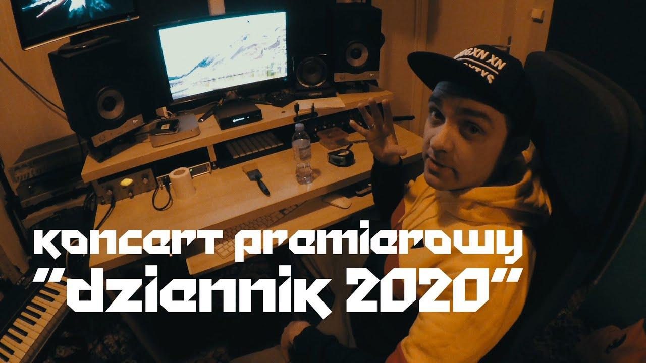 """Proceente zapowiada koncert premierowy """"Dziennik 2020"""" w BARdzo bardzo (26.03.2020)"""