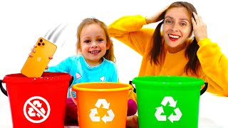 Kids Song - Yes Yes Save the Earth Song | Love The Earth Song | Song for Kids by Maya and Mary