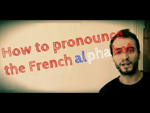 Beginner Easy to Learn French lesson letter l'alphabet / alphabet pronounciation