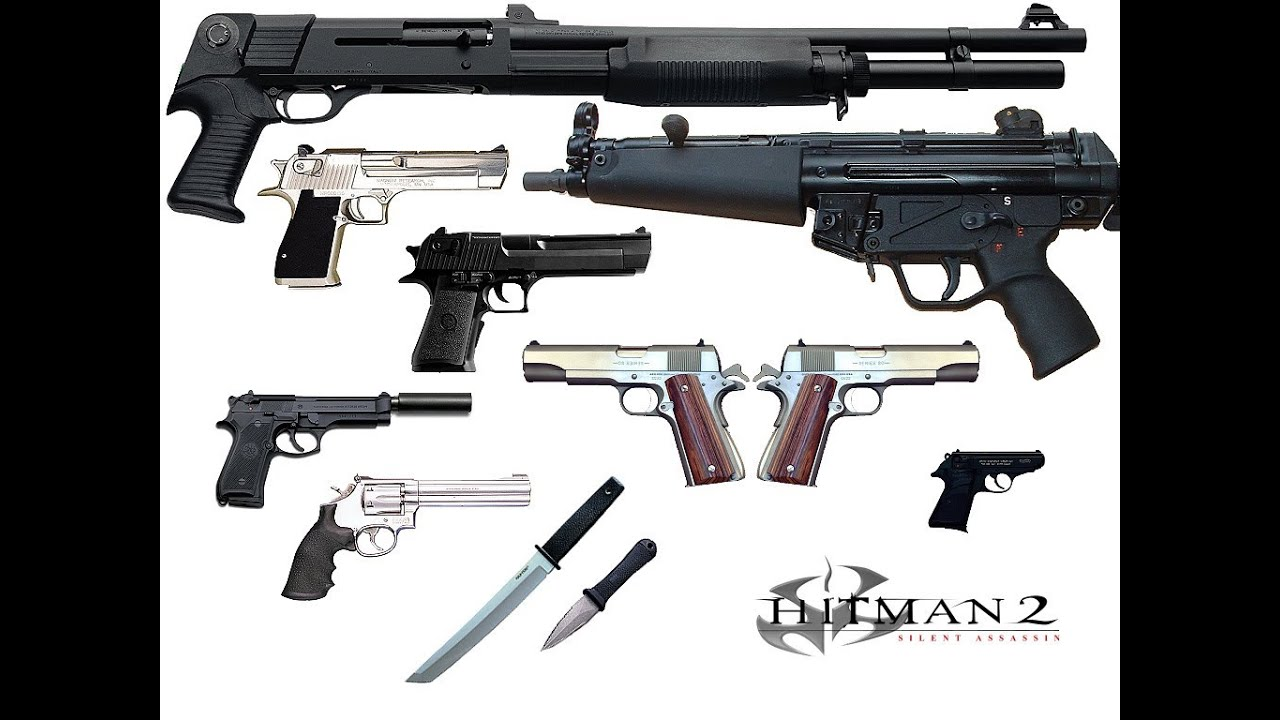Hitman Blood Money Hd All Weapons Youtube