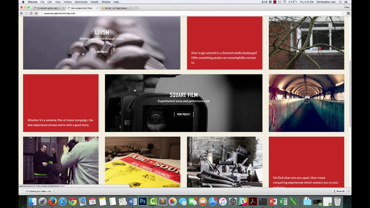 Html css how to layout your website on a 12 column grid for Html css grid