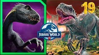 Путь к Индораптору! Индоминус рекс 19 Уровень Jurassic World Alive
