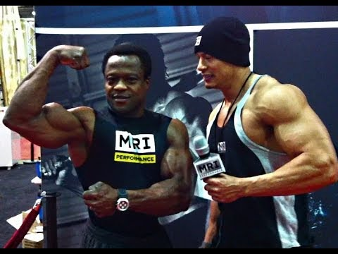 Interview with Moji Oluwa at the 2014 Arnold Sports Festival