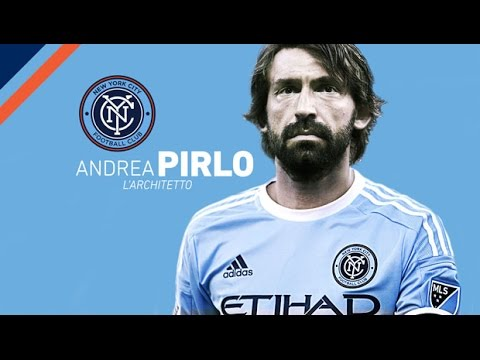 Andrea Pirlo | New York City FC 2015-16 | Best Skills & Passes | HD 720p