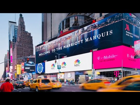 Marriott Marquis Times Square Room Tour | New York City