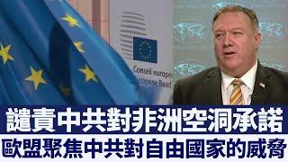 蓬佩奧:歐洲認識到中共威脅|@新唐人亞太電視台NTDAPTV |20200630