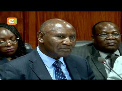 Auditor General appears before National Assembly