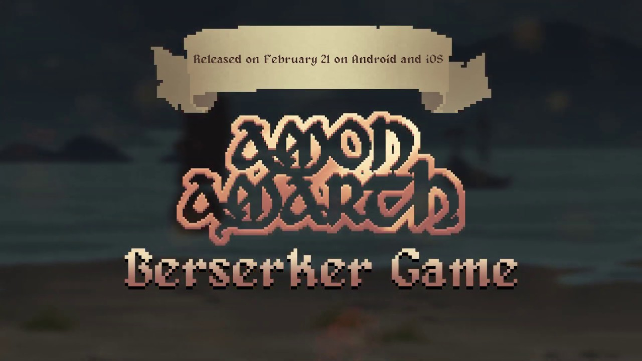 Amon Amarth Berserker Game Trailer Youtube