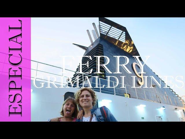 Ferry Grimaldi Lines Barcelona - Porto Torres