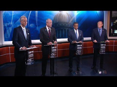 Democrats Square Off in Gubernatorial Primary Debate