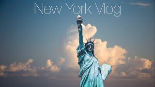 ニューヨーク旅行Vlog:ニューヨーク自由の女神〜ブルックリンブリッジ、ブルクッリン、ダンボ地区を観光。NYの旅#4