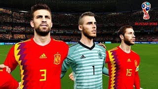 Iran vs Spain | Group B | FIFA World Cup Russia 20 June 2018 Gameplay