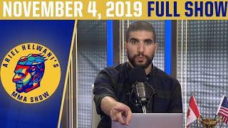 Jorge Masvidal, Kevin Lee, Israel Adesanya   Ariel Helwani's MMA Show (November 4, 2019)   ESPN MMA