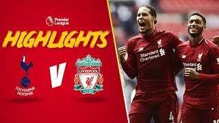 Download Video Highlights: Spurs 1-2 Liverpool | Reds make it five wins from five at Wembley MP3 3GP MP4