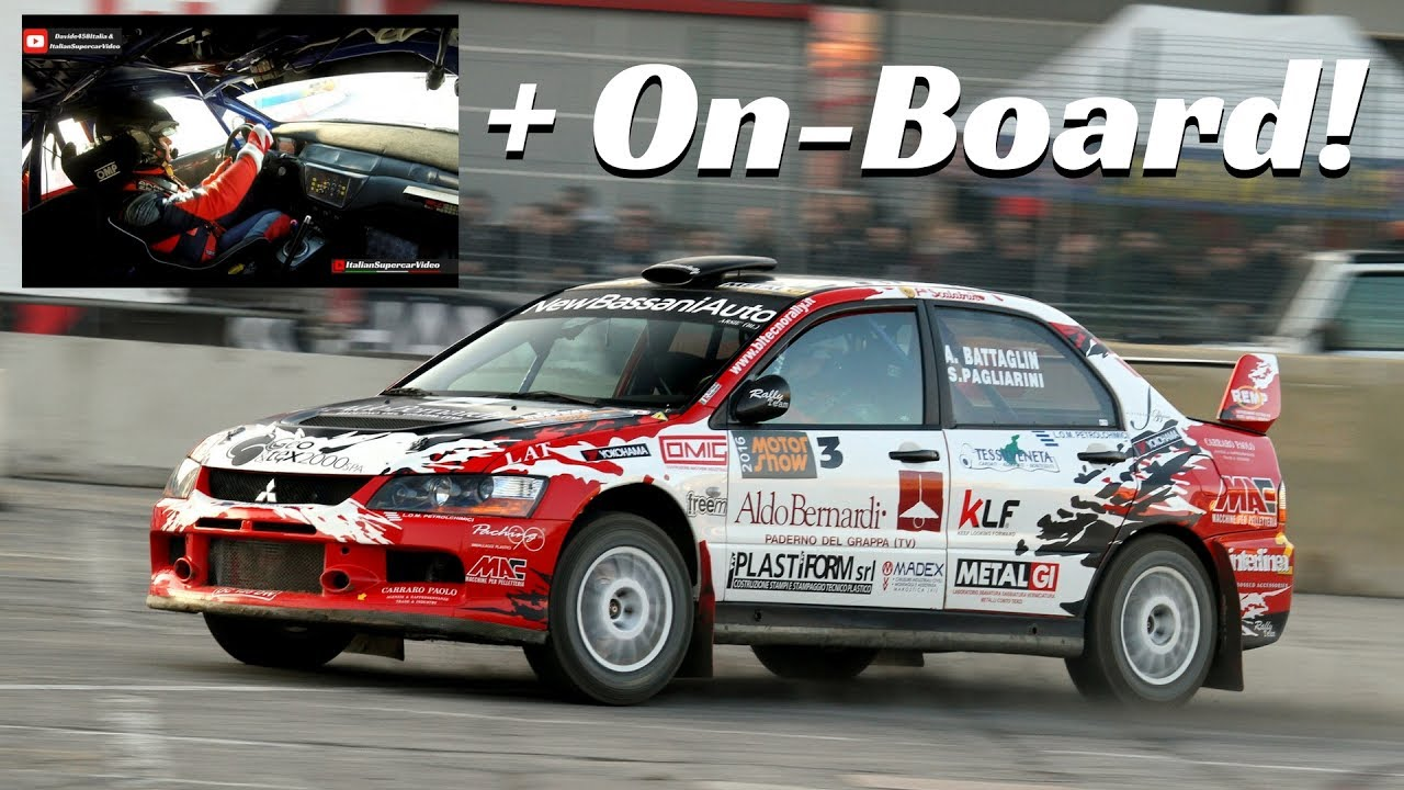 Mitsubishi Lancer Evo IX in action! - Rally onboard & Pure Sound ...