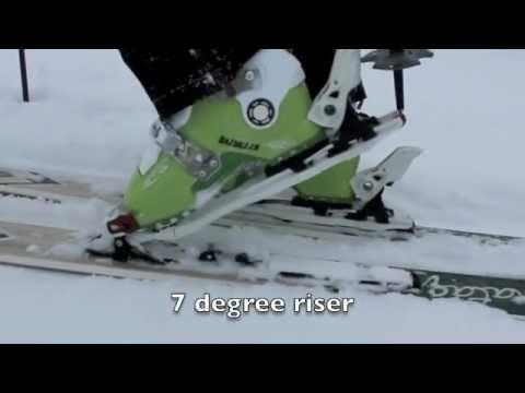 110mm Schwarz / Alpin Bindungen Marker Tour F12 Epf Ski Bindungen Groß
