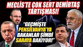 Erdoğan'ın Selahattin Demirtaş'ı hedef alan sözleri Meclis'te tartışma çıkardı!