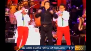 Las Noticias - Aída Cuevas visitó a Juan Gabriel en el hospital