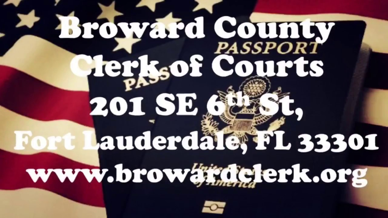 broward county clerk of court recording