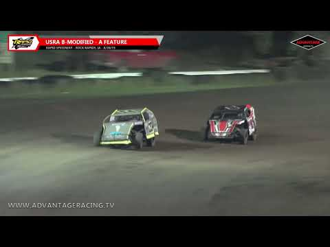 B-Modified/Stock Car Features - Rapid Speedway - 8/30/19