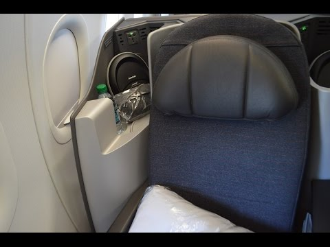 American Airlines A321 Transcontinental Business Class : New York to Los Angeles AA19