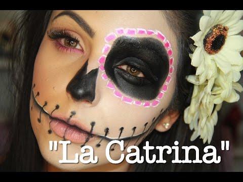 \u0026quot;La Catrina\u0026quot; maquillaje para Halloween!