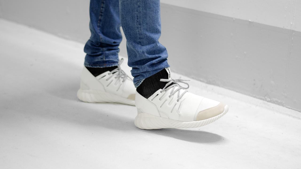 Adidas Tubular Doom Shoes BA7554 White TopDeals