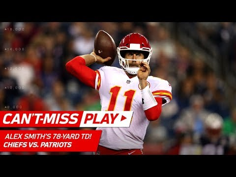 Alex Smith's 78-Yard TD Pass to Kareem Hunt! | Can't-Miss Play | NFL Week 1 Highlights