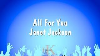 All For You - Janet Jackson (Karaoke Version)