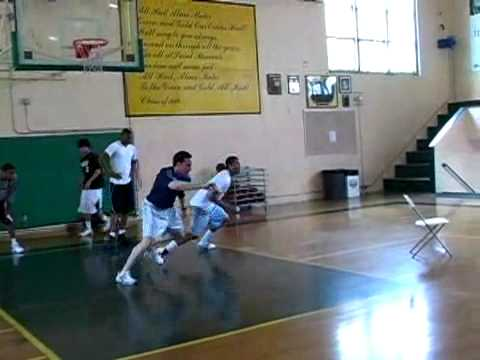 Derrick Rose Working out in California