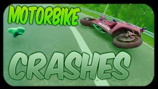 MOTORCYCLE CRASHES COMPILATION & MOTO FAILS #6