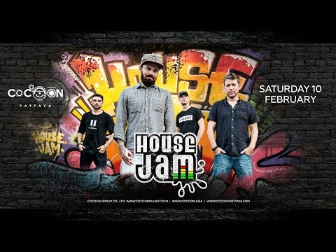House Jam (UK) Live At Cocoon Pattaya #1