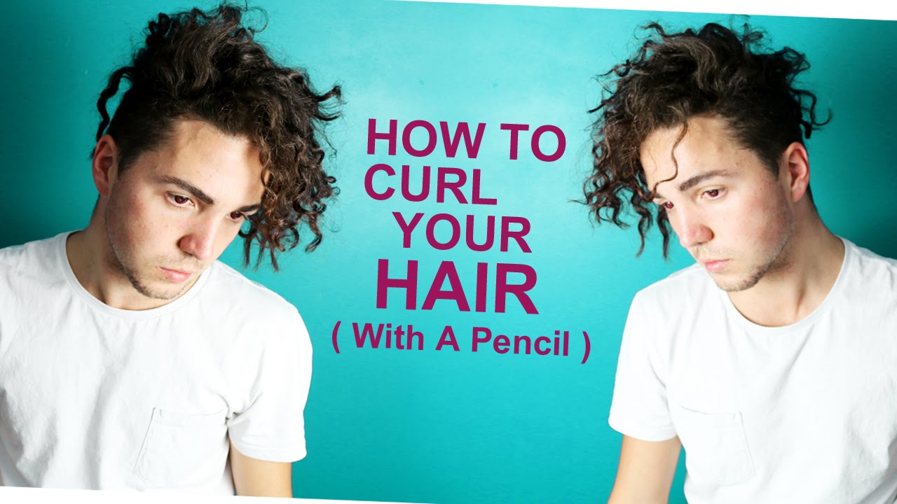 how to style your curly hair how to curl your hair with a pencil s hair styling 9544
