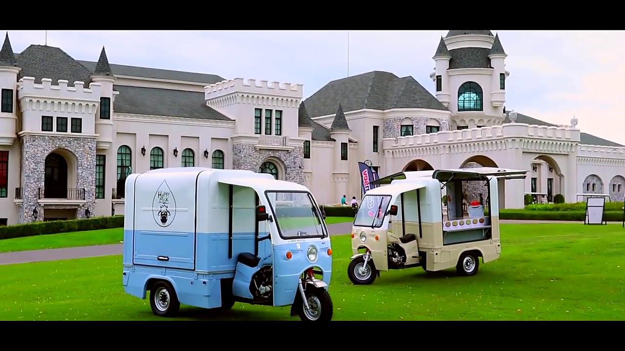 TVC xe máy điện ba bánh điện bán hàng rong nhập khẩu Thái Lan | Xe Điện Thái Lan