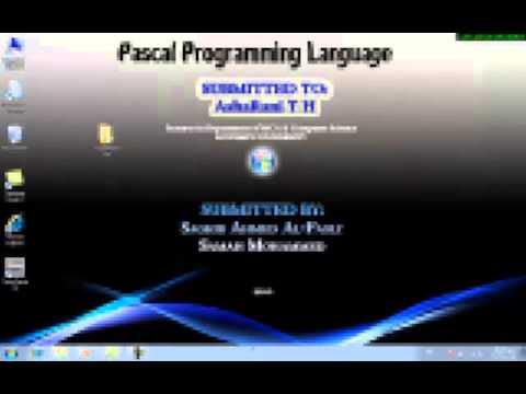 software turbo pascal untuk windows xp