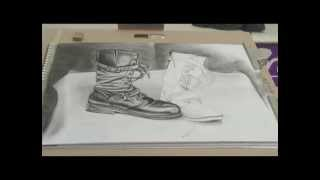 Art Lesson: How to Draw Boots