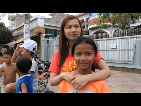 Trip To Cambodia:  Cambodian People Party election parade 2012
