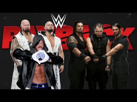WWE 2K16 Dream Booking - The Shield...