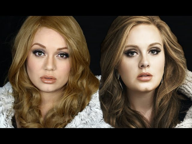 How To Become Adele The Makeup Tutorial Youtube