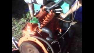 Kubota F2803 diesel engine