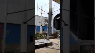 RC- HV series vertical axis wind turbine (VAWT) testing by wind tunnel