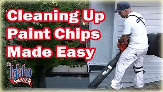 How To Clean Up Paint Chips