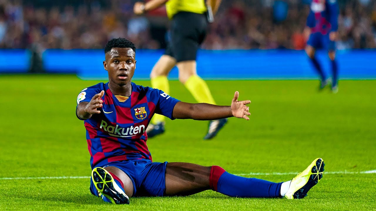 Download 16 Year-Old Ansu Fati Debut vs Real Betis | HD