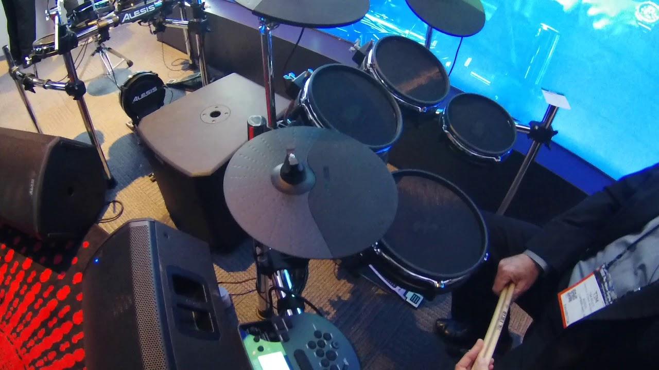 Alesis Nitro Mesh Electronic Drum Kit Bundle