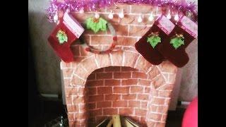 DIY / КАК СДЕЛАТЬ КАМИН! СОВМЕСТНОЕ ВИДЕО!(КАК СДЕЛАТЬ КАМИН! СОВМЕСТНОЕ ВИДЕО! Камин придает дому очень праздничную атмосферу! Камин дарит тепло..., 2015-12-04T13:23:20.000Z)